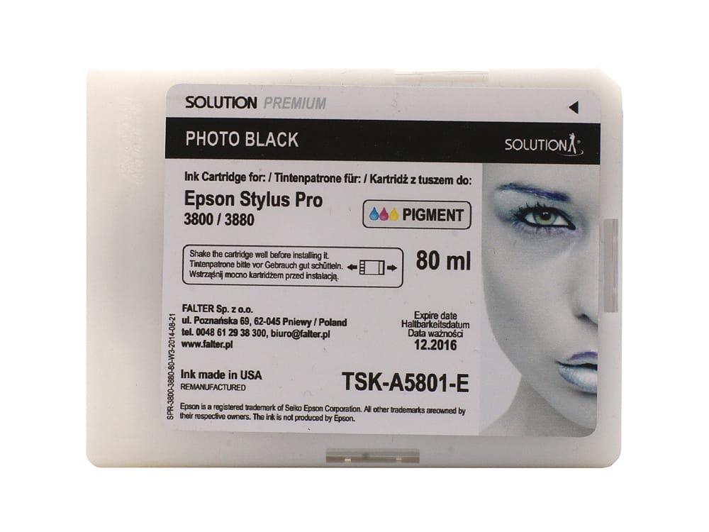 SOLUTION PREMIUM 3800/3880 PHOTO BLACK 80 ML