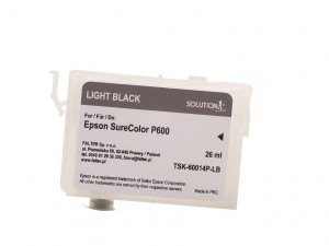 Empty refillable cartridge for Epson Stylus Photo SC-P600 light black (26ml)