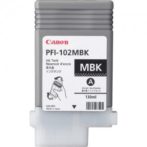 Canon Ink Matt Black PFI-102, 130 ml