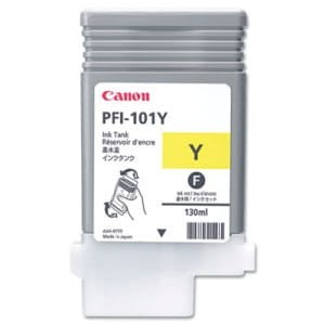 Canon ink yellow PFI 101Y, 130 ml
