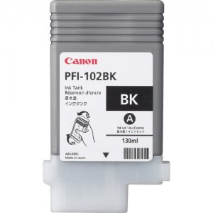 Canon Ink Black PFI-102, 130 ml