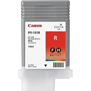 Canon ink red PFI 101R, 130 ml