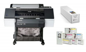 Epson Stylus Pro 7890  / Atramenty Solution Graphic / Papier Luster  RC 255