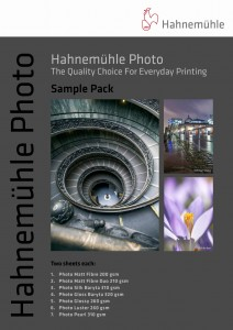 Hahnemühle Photo - sample pack
