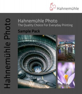 Hahnemühle Photo - media sampler