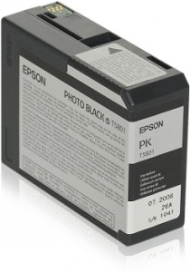 ATRAMENT EPSON 3800/3880 PHOTO BLACK 80ml