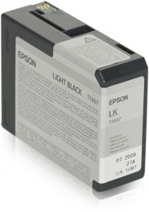 ATRAMENT EPSON 3800/3880 LIGHT BLACK 80ml