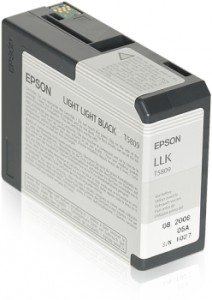 ATRAMENT EPSON 3800/3880 LIGHT LIGHT BLACK 80ml