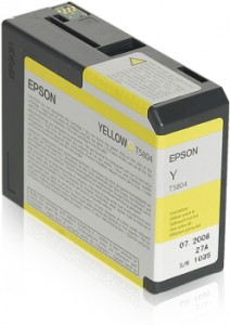 ATRAMENT EPSON 3800/3880 YELLOW 80ml
