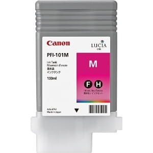Canon ink magenta PFI 101M, 130 ml