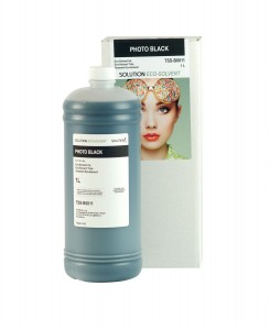 Solution Eco-Solvent BLACK 1000 ml