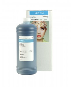 Solution Eco-Solvent LIGHT CYAN 1000 ml