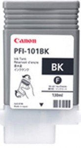 Canon ink black PFI 101BK, 130 ml