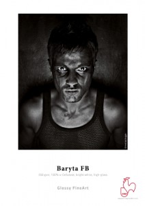 Photographic paper Hahnemühle FineArt Baryta FB (350 gsm) Ultra White