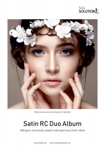 Photographic paper Solution Daily SATIN RC DUO - Album  (280 gsm) Ultra White