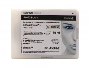 SOLUTION PREMIUM 3800/3880 PHOTO BLACK 80 ML