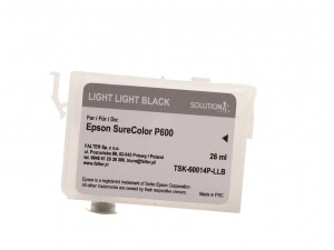 Empty refillable cartridge for Epson Stylus Photo SC-P600 light light black (26ml)