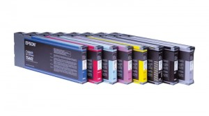 EPSON INK FOR 4000/7600/9600 CYAN 220 ML