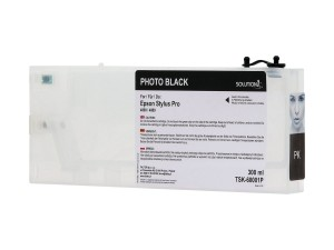 Empty refillable cartridge for Epson Stylus Pro 4800/4880 photo black (300ml)