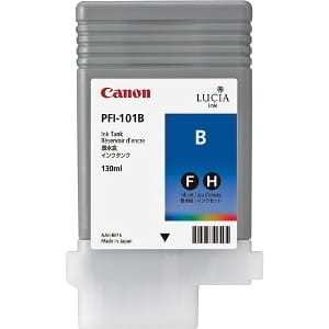 Canon ink blue PFI 101B, 130 ml