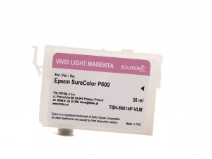 Empty refillable cartridge for Epson Stylus Photo SC-P600 vivid light magenta (26ml)