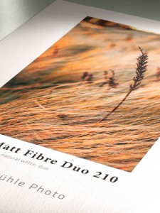 Papier fotograficzny Hahnemühle Photo MATT FIBRE DUO (210 gsm) Natural White