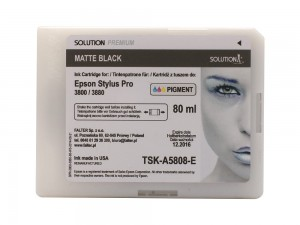SOLUTION PREMIUM 3800/3880 MATTE BLACK 80 ML